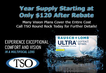 bausch lomb ultra contact lenses round rock